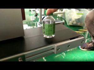 stacjonarna maszyna do etykietowania naklejek na plastikowe butelki z wodą
