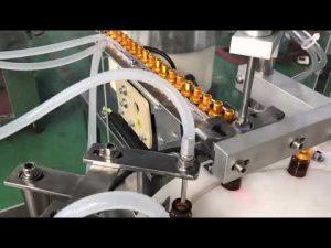 automatyczna 5-30 ml szklana kroplówka mała fiolka z kroplami do oczu e maszyna do napełniania płynów