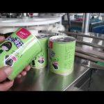 w pełni automatyczna maszyna do napełniania butelek z płynem kosmetycznym z korkiem