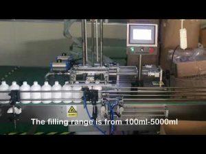 automatyczna maszyna do napełniania butelek szamponem z 2 dyszami