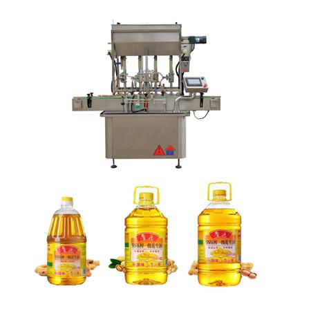 automatyczna rotacyjna maszyna do napełniania olejem