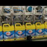automatyczna 8-głowicowa maszyna do napełniania butelek szamponem do prania