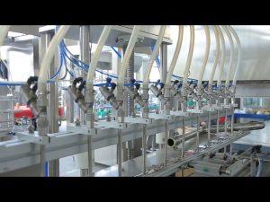 płyn do dezynfekcji mydła do rąk maszyna do napełniania butelek z alkoholem