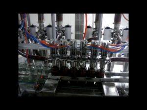 liniowa automatyczna 4-głowicowa tłokowa butelka z lepkim sosem do napełniania płynem keczupowym