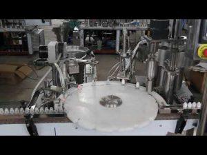 automatyczna maszyna do napełniania kropli do oczu, maszyna do napełniania i zamykania małych butelek