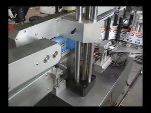 automatyczna maszyna do etykietowania butelek dwustronnych na okrągłe butelki