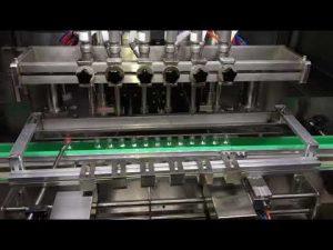 automatyczna maszyna do napełniania żelem do odkażania alkoholu dla codziennego przemysłu chemicznego