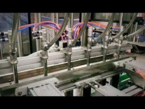 automatyczna maszyna do butelkowania lepkich płynów liniowych z detergentem, szamponem, olejem smarującym