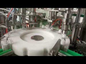 wysokiej jakości maszyna do napełniania butelek z zielnymi 30 ml płynnymi butelkami