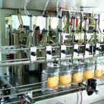 automatyczna 5-litrowa maszyna do napełniania butelek tłokowych
