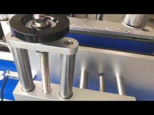 dwustronna naklejka do warzenia automatyczna maszyna do etykietowania okrągłych butelek