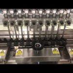 płynna liniowa maszyna do napełniania kremów alkoholowych, słoik miodu mała butelka oleju do napełniania