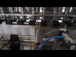 automatyczna maszyna do napełniania płynnych detergentów i płynów dezynfekujących