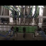 tłokowa maszyna do napełniania butelek z mydłem w płynie