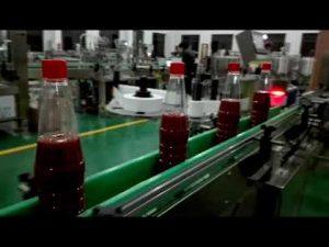 szybka pełna automatyczna maszyna do napełniania butelek do keczupu, dżemu, sosu