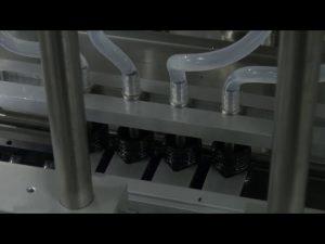 Automatyczna dokładna maszyna do napełniania płynów o pojemności 10 ml-5l z 6 głowicami