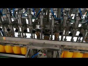 Automatyczna maszyna do napełniania butelek z 12 głowicami do sosu kosmetycznego z olejkami keczupowymi