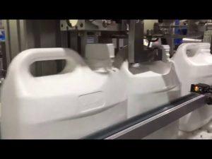 automatyczna cyfrowa maszyna do napełniania płynów i kremów z 4 dyszami
