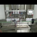 automatyczna maszyna do napełniania butelek lepką płynną pastą do mydła w płynie, balsamu do ciała, szamponu