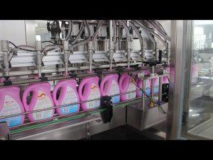 automatyczna maszyna do napełniania butelek szamponu jadalnego oleju, oliwy z oliwek, detergentu do butelek