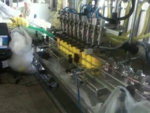 automatyczna maszyna do napełniania szamponów z dyszami do nurkowania