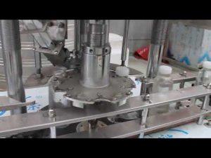 automatyczna maszyna do zamykania butelek z pojedynczą głowicą z tworzywa sztucznego