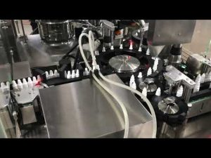 farmaceutyczna kapslowa maszyna do napełniania kropli do małej fiolki o pojemności 20 ml