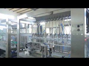 fabryka automatyczna liniowa lepka płynna jadalna butelka do napełniania słoików z olejem jadalnym